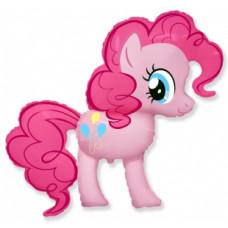 Шар (40''/102 см) Фигура, My Little Pony, Лошадка Пинки Пай фейерверк
